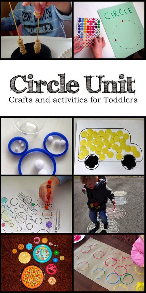 learning circles for toddlers toddlers learning through 830 | 7c54b0448c3a1dcce2dcbfb26fcc26cd circle crafts preschool preschool shapes