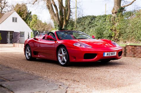Used 360 spider f1 prices. RESERVE LOWERED: 2001 FERRARI 360 SPIDER F1 - Collecting Cars