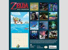 The Legend of Zelda Calendar 2017 Nintendo Official UK Store