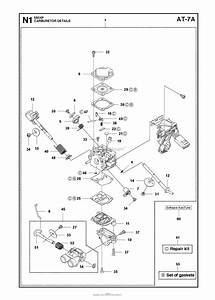 Husqvarna 550 Xp  Xpg Parts Diagram For Carburetor Details