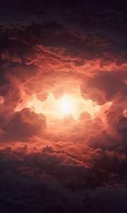 storm, clouds, in, sky, 4k, wallpapers
