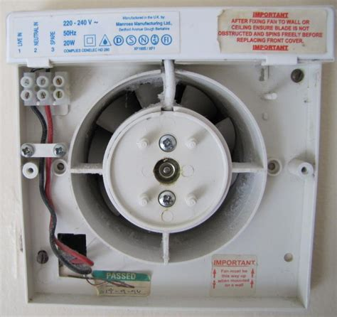 switched  bathroom extractor fan diynot forums