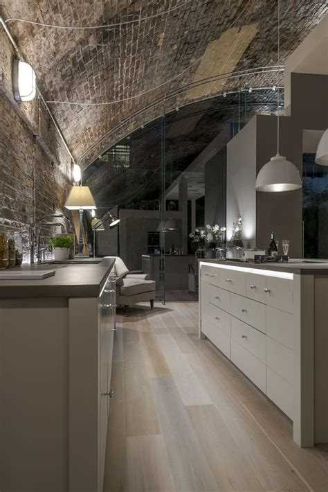 Modern kitchen blends industrial flavour with contemporary