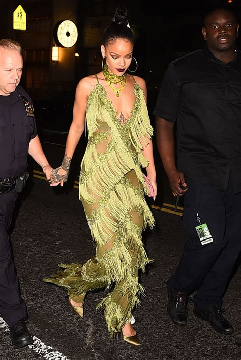 Every Single Outfit Rihanna Wore To The 2016 VMAs - MTV