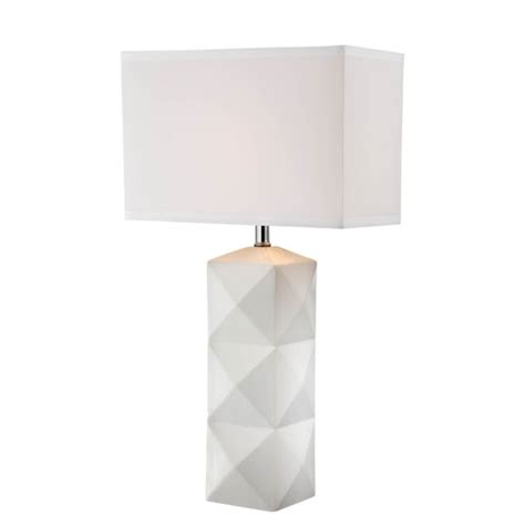 Silver Nightstand Ls by Lite Source Robena White One Light Table L Ls 22239wht