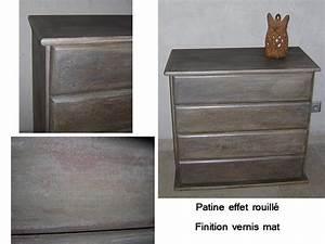 Peindre Un Meuble En Bois : comment peindre un meuble en bois 2 patiner un meuble ~ Dailycaller-alerts.com Idées de Décoration
