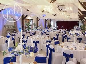 Dcoration Mariage Bleu Roi Mariage Toulouse