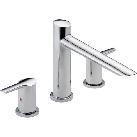 bathtub trim kit delta compel 2 handle deck mount tub faucet trim kit