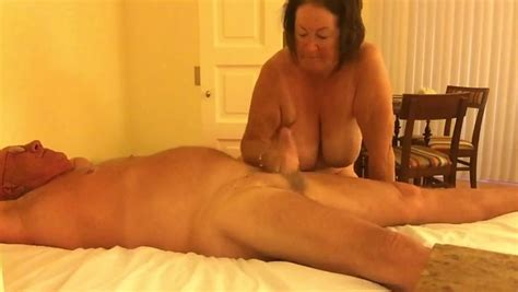 Mature Neighbor Got Handjob And Oral Pleasures From His