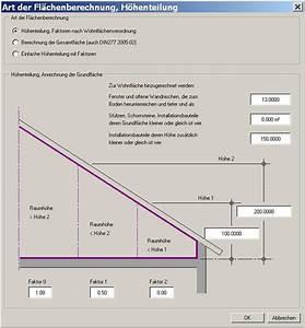 Wohnfläche Berechnen : wohnfl chenberechnung unter dachschr gen funtioniert nicht allplan 2006 architektur und ~ Themetempest.com Abrechnung