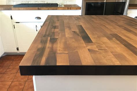 Staining Butcher Block Countertops by How We Quot Stained Quot Our Butcher Block Countertops With