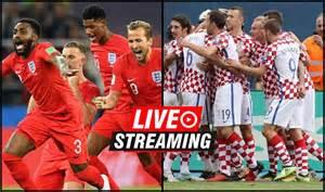 England Croatia Fifa World Cup Semi Final Match