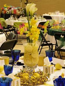 Table, Centerpiece, I, Made, For, Our, Ladies, Brunch, Lemons, Are