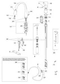pegasus kitchen faucet delta kitchen faucet parts list x parts diagram for
