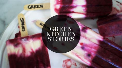 green stories kitchen yogurt blueberry popsicles green kitchen stories 1467