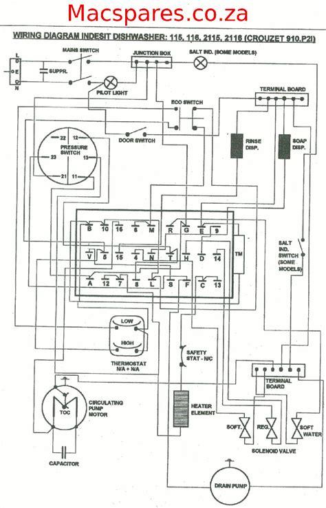 indesit dish washer to bosch dishwasher wiring diagram