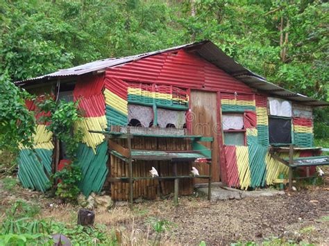 chambre rasta hutte de rasta image libre de droits image 553986
