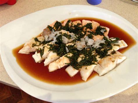 cuisine vapeur asiatique saumon grillé ou à la vapeur à la sauce soja cherka