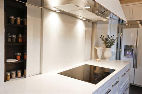 Sliding Backsplash   Transitional   kitchen   House Beautiful