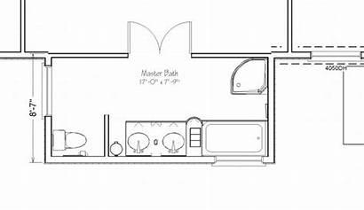 Bathroom Plans Floor Bath Master Addition Layout
