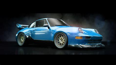 porsche model car porsche 911 gt2 3d model max cgtrader com
