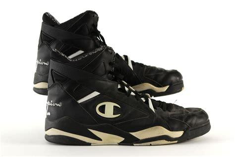 Champion Shoes : 1990's Circa Robert Parish Boston Celtics