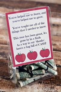Best Teacher Gift - Bag Of Cash