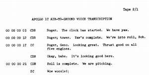 Apollo 1 Transcript - Pics about space
