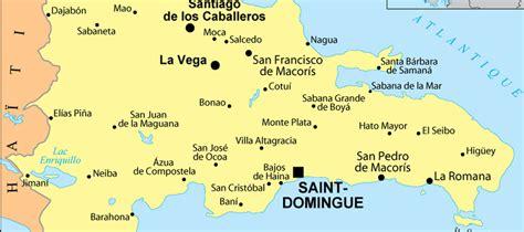 Punta Cana Carte Géographique Monde by Carte R 233 Publique Dominicaine Et Pays Voisins Pays Monde