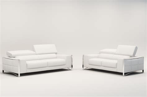 canapé cuir blanc royal sofa idée de canapé et meuble