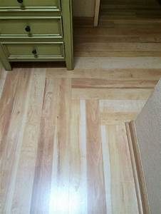 laminate flooring in hallway changing direction west With direction of wood floor