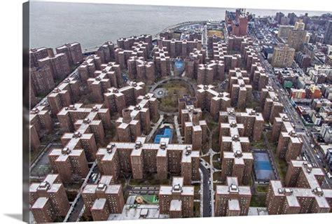 Stuyvesant Town New York City Aerial Photograph Wall