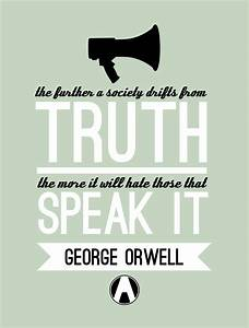 George Orwell On Truth Quotes. QuotesGram