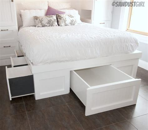 Wardrobe With Drawers Underneath by Built In Wardrobes And Platform Storage Bed Sawdustgirl