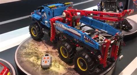 2017 6x6 lego technic tow truck set 42070 lego technic