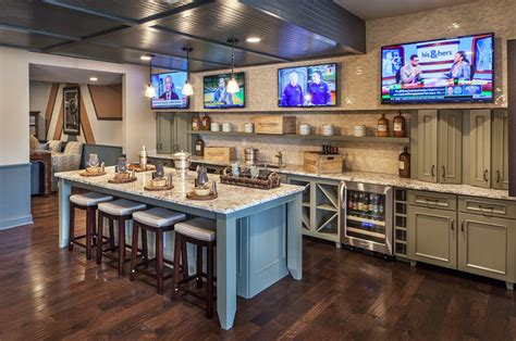 island design kitchen 47 cool finished basement ideas design pictures