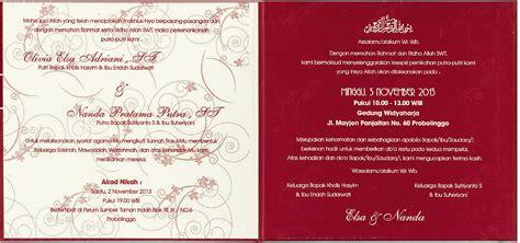 wedding invitation oliviaelsaadriani