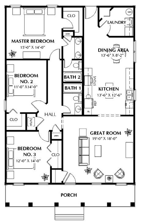 house plans 3 bedroom three bedroom house plans photos and