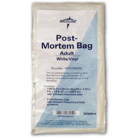 post mortem bag