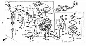 34 Honda Rancher 350 Carburetor Diagram