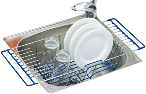 over sink drainer rack over the sink dish drainer rack webnuggetz com