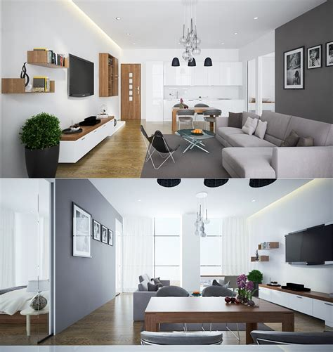 Handsome Small Apartments With Open Concept Layouts by 23 Open Concept Apartment Interiors For Inspiration