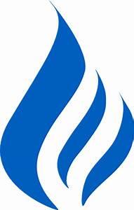 Blue Flame Logo Clip Art at Clker.com - vector clip art ...