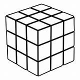 Cube Coloring Pages Imagery Transformation Sports Mental Rubik Rubiks Level Figure Vs sketch template