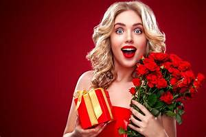 Receive a gift of surprise HD picture 02 - Flowers stock ...
