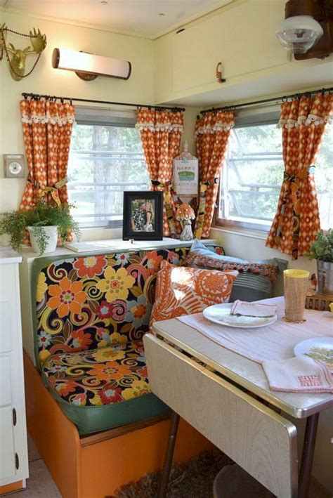 awesome rv curtain design  amazing camper interior