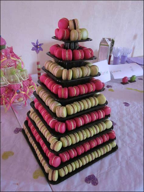 pyramide de macarons au beurre fondu
