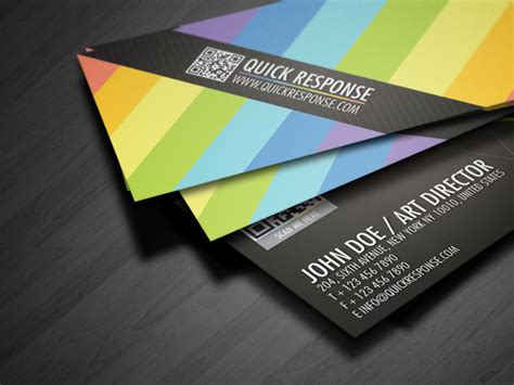Qr Quick Response Business Card Design Version 02 Business Card Font Style Acrimet Index File For Materials Freepik Psd Free Templates 2'' X 3.5'' Geographics Template Music India