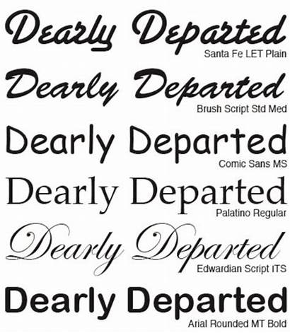 Fonts Word Microsoft Different Script Font English