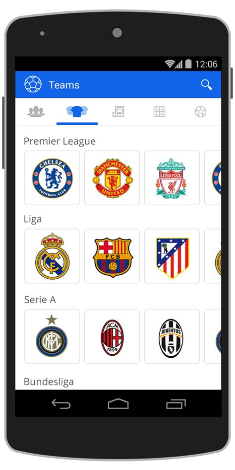live app for android football live android app template